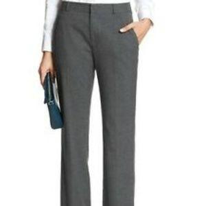 Banana Republic Stretch Charcoal Grey Trouser 6L